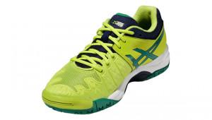 ... ASICS - Buty tenisowe dla dzieci GEL RESOLUTION 6 lime-pine-indigo blue a26812e209c10