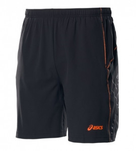 ASICS - Spodenki chłopięce Resolution Short performance black