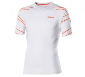ASICS - T-shirt chłopięcy Court Graphic Tee real white