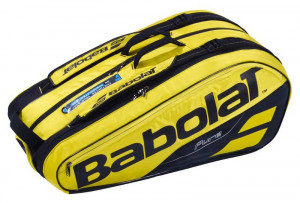BABOLAT - Termobag Pure Aero yellow/black na 9 rakiet (167207)