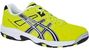 ASICS - Buty tenisowe dla dzieci GEL RESOLUTION 5 flash yellow-black-silver