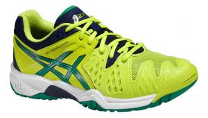 ASICS - Buty tenisowe dla dzieci GEL RESOLUTION 6 lime-pine-indigo blue ... 8957467219a5b