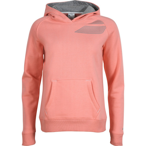BABOLAT - Bluza dresowa Sweat Basic Girl pink_1.jpg