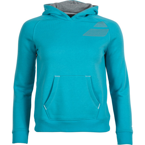 BABOLAT - Bluza dresowa Sweat Basic Girl turkus_1.jpg