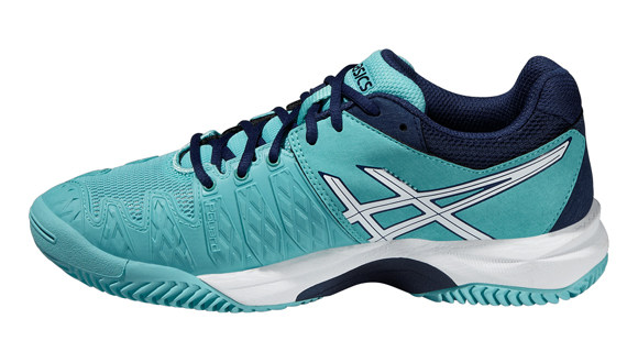... ASICS - Buty juniorskie Gel-Resolution 6 CLAY GS pool blue-white-indigo  ... 991d0c4625f3b