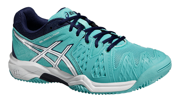 Asics Gel Resolution 6 Clay GS Tennis Shoes Junior Lime